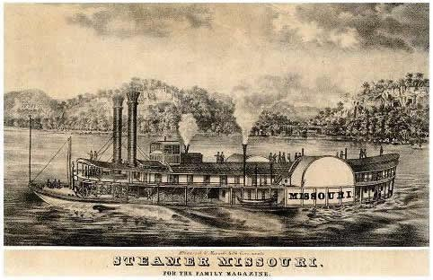 Missouri Steamboat