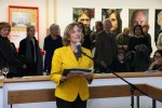 Mayor of Giessen Germany opens exhibit on November 1, 2013