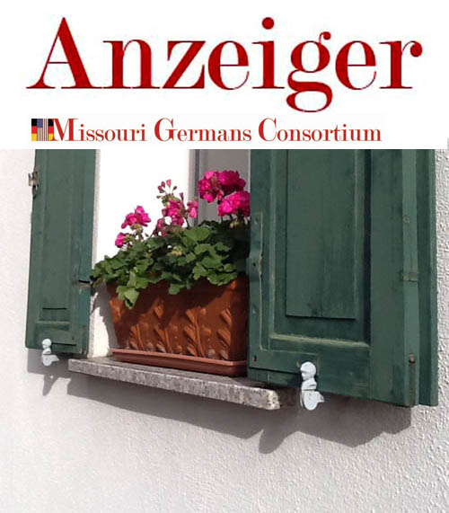 April Issue of Der Anzeiger