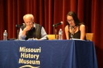 "Author Rolf Schmidt and Autumn Franke give a reading from his book ""The Move"""