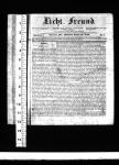 Licht-Freund – Titelkopf mit Lineal – c max -1843-08-23