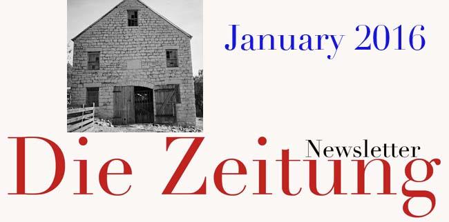 January 2016 News