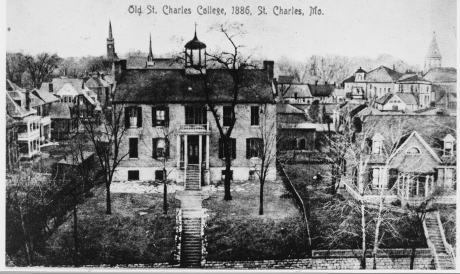 Old St. Charles College - 1886