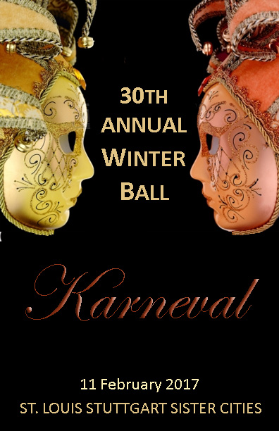 St.Louis-Stuttgart Sister Cities announces 30th Winter Ball Karneval