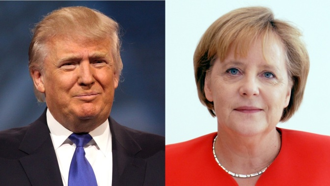 Chancellor Angela Merkel to meet with President Donald Trump